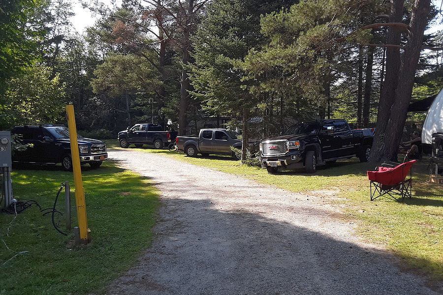 RV Sites at Along the River Campground & Cabins